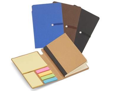 Bloco de anotações com elástico-DO2734 - Foto 1