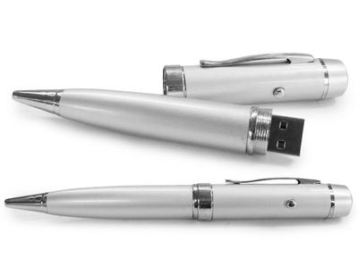 Caneta Pen Drive de Metal com Laser-DO312 C - Foto 1
