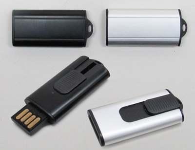 Pen-Drive Retrátil-DO1776B - Foto 1