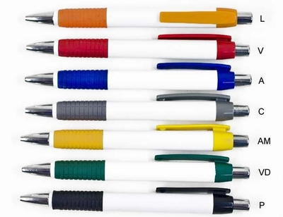 caneta plastica-DO455 A - Foto 1