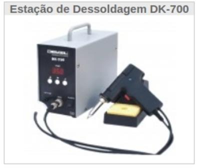 Estação de Dessoldagem DK-700 - Foto 1