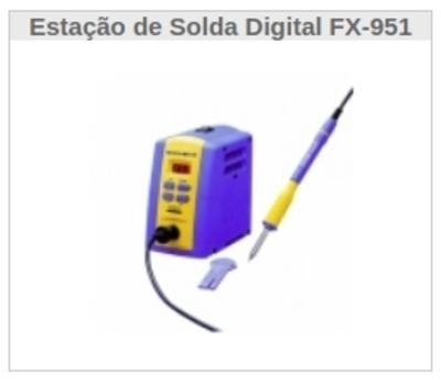 Estação de Solda Digital FX-951 - Foto 1