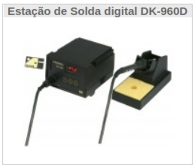 Estação de Solda digital DK-960D - Foto 1