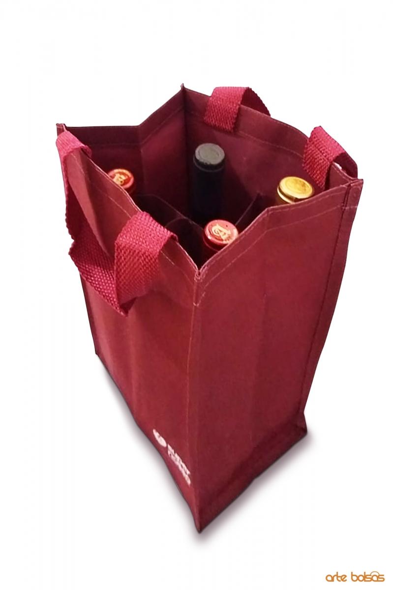 Sacola Porta Vinho 6002 - Foto 1