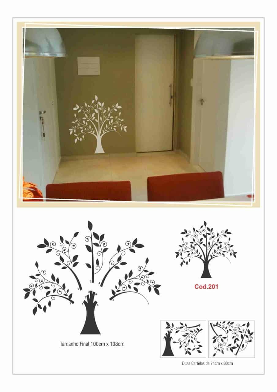 Adesivo de Decoração   Árvore R$ 136,00