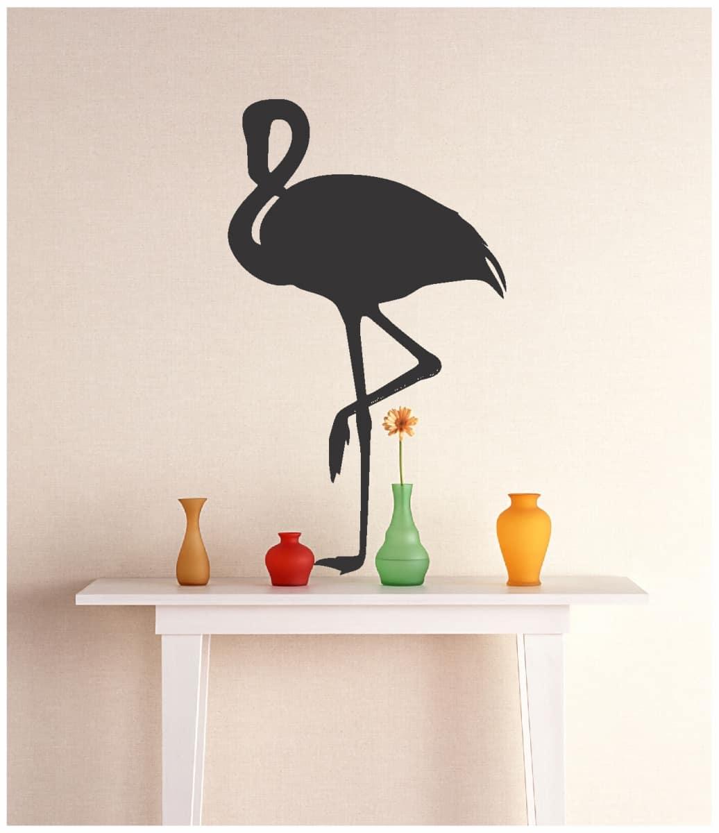 Adesivo De Decoração | Flamingo