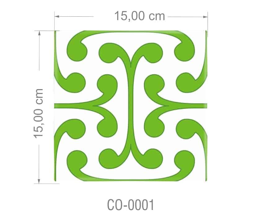 Azulejo PT kit com 90 uni - CO 0001 R$182,00