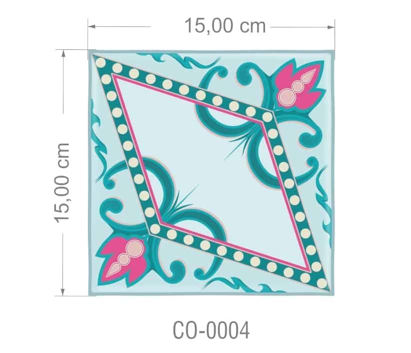Azulejo PT kit com 90 uni - CO 0004 R$182,00