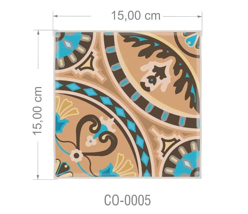 Azulejo PT kit com 90 uni - CO 0005 R$182,00