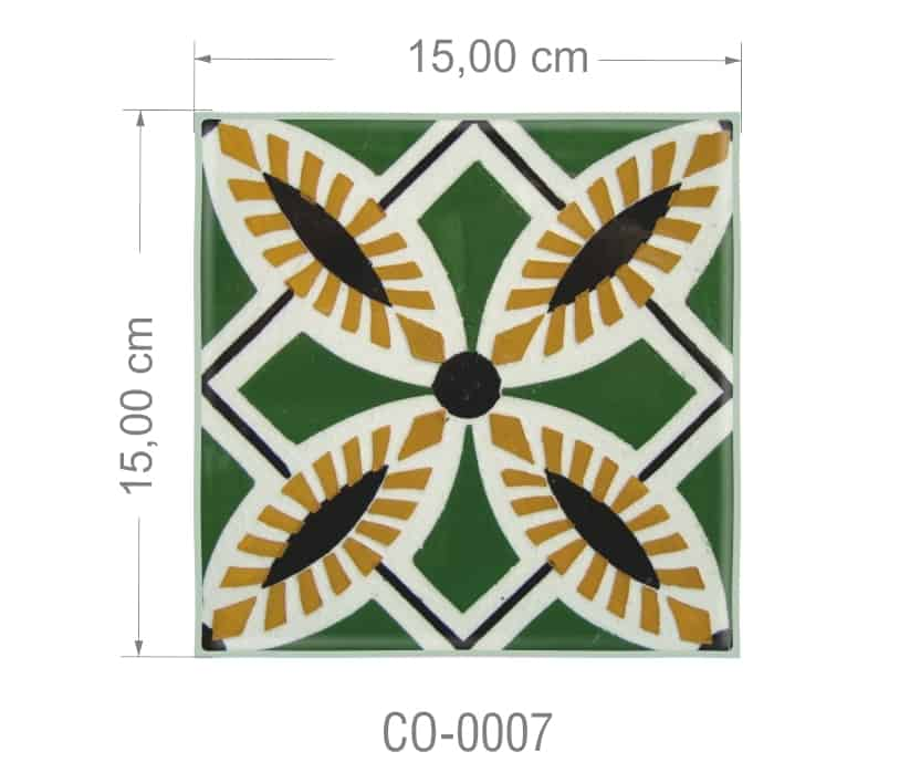Azulejo PT kit com 90 uni - CO 0007 R$182,00