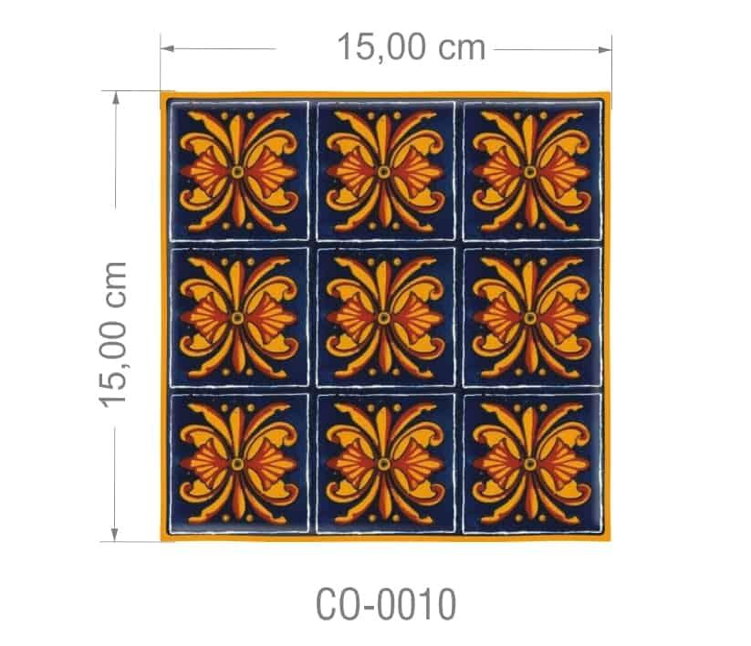 Azulejo PT kit com 90 uni - CO 0010 R$182,00