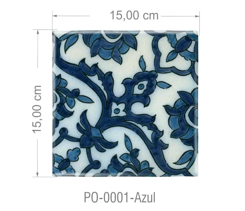 Azulejo PT kit com 90 uni - P0 0001 R$182,00