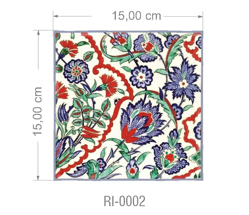 Azulejo PT kit com 90 uni - RI 0002 R$182,00