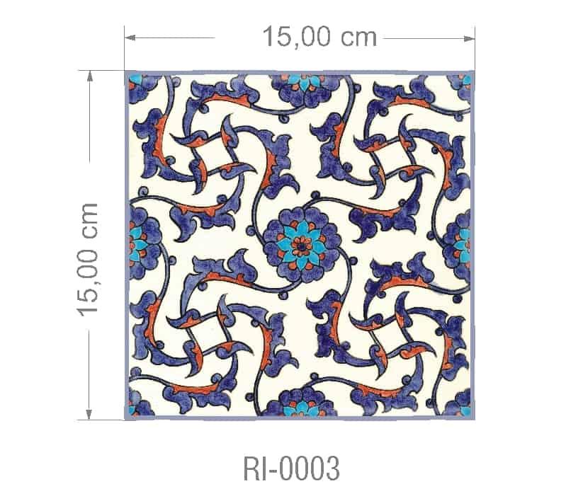 Azulejo PT kit com 90 uni - RI 0003 R$182,00
