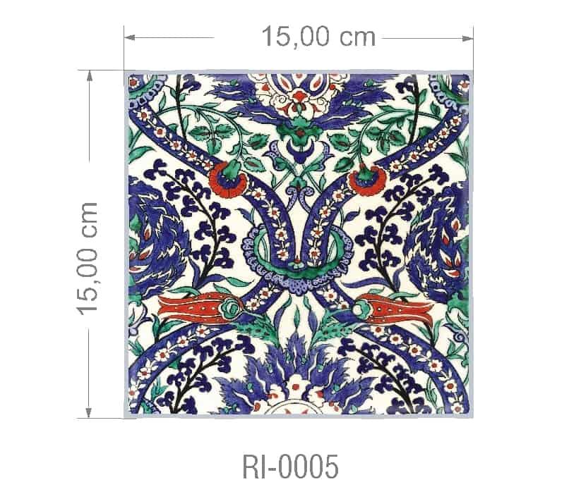 Azulejo PT kit com 90 uni - RI 0005 R$182,00