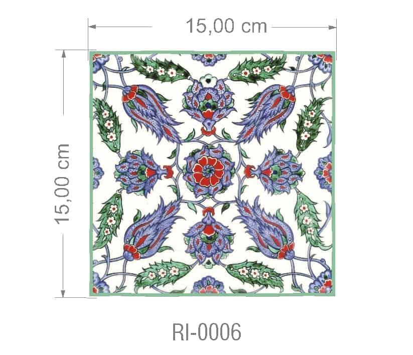 Azulejo PT kit com 90 uni - RI 0006 R$182,00