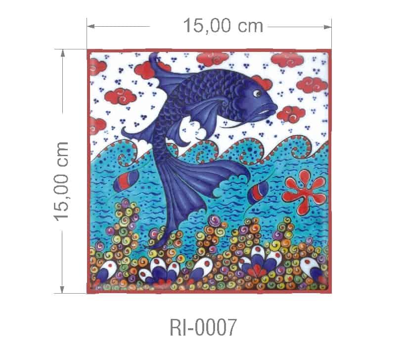 Azulejo PT kit com 90 uni - RI 0007 R$182,00