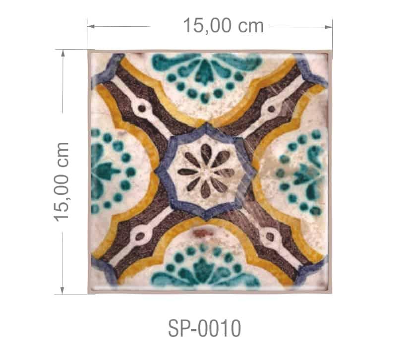 Azulejo PT kit com 90 uni - SP 0010 R$182,00
