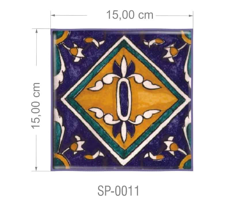 Azulejo PT kit com 90 uni - SP 0011 R$182,00