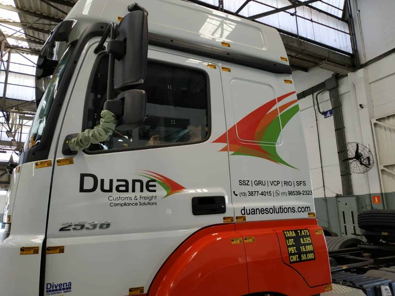 Caminhões | Duane