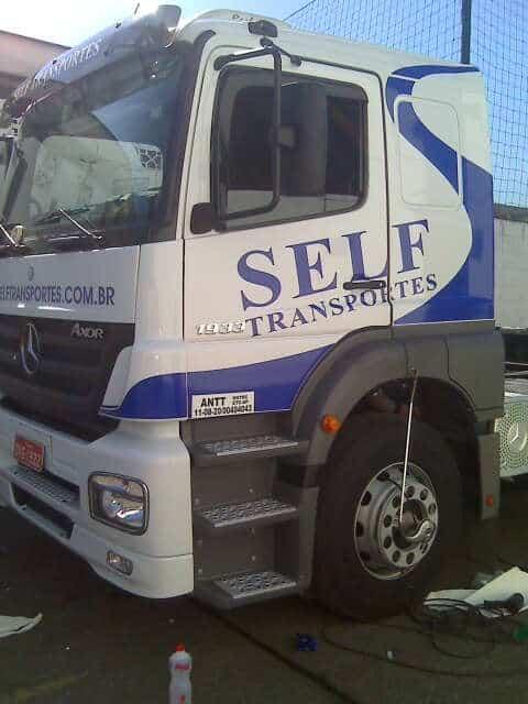 Caminhões | Self Transportes