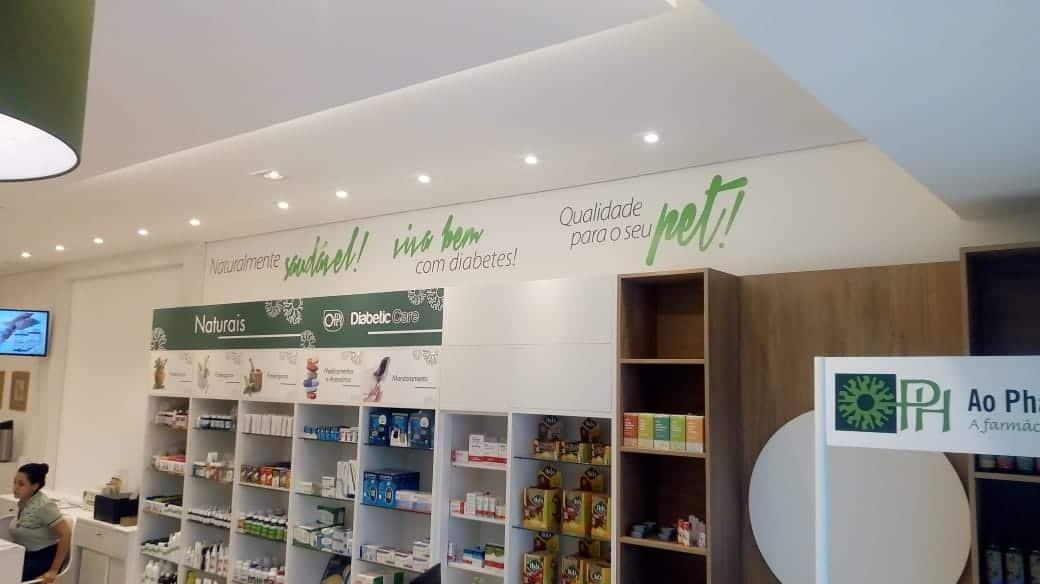 Decoração Comercial | Ao Pharmaceutico
