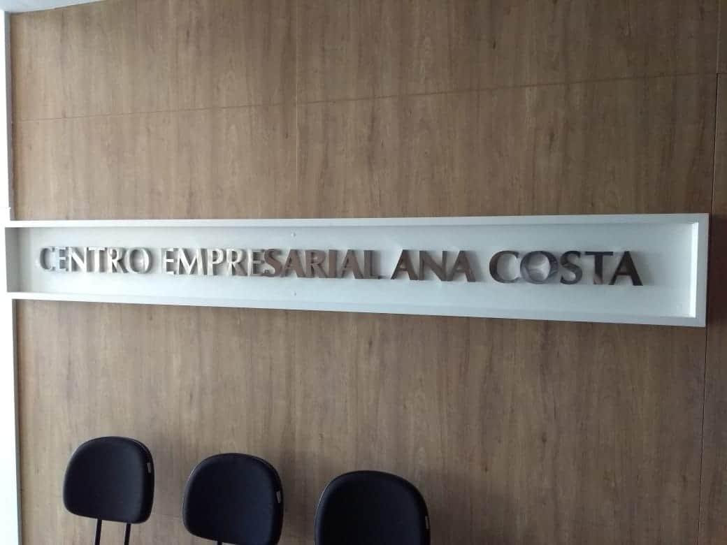Letra Caixa | Centro Empresarial Ana Costa