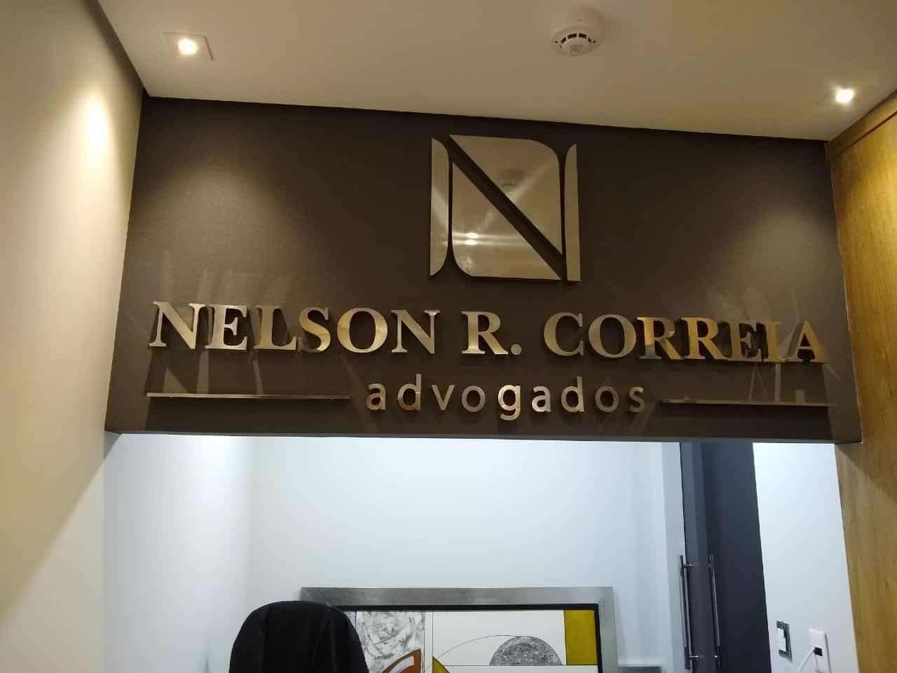 Letra Caixa | Nelson R Correia