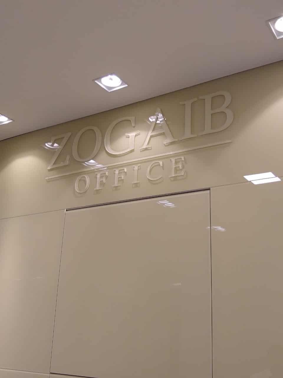 Letra Caixa | Zogaib Office