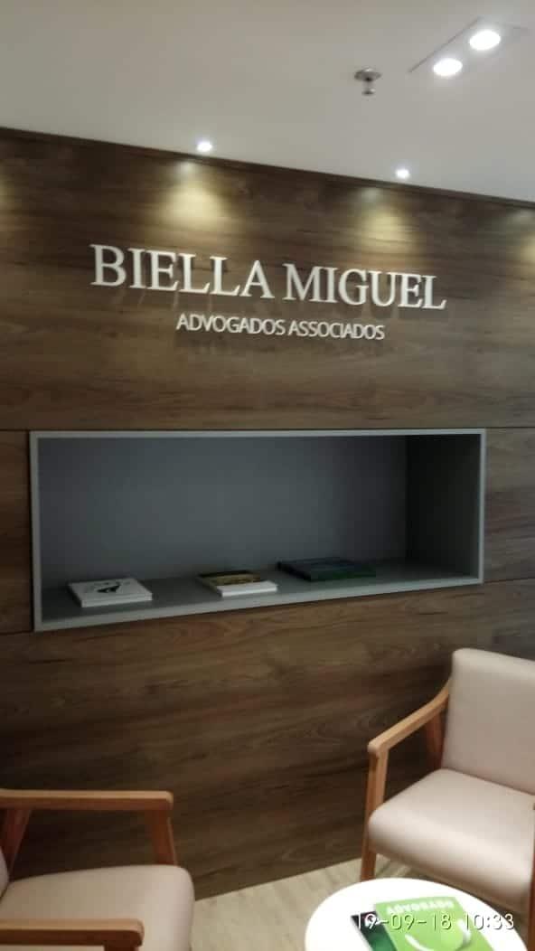 Letra Caixa - Biella Miguel | Advocacia