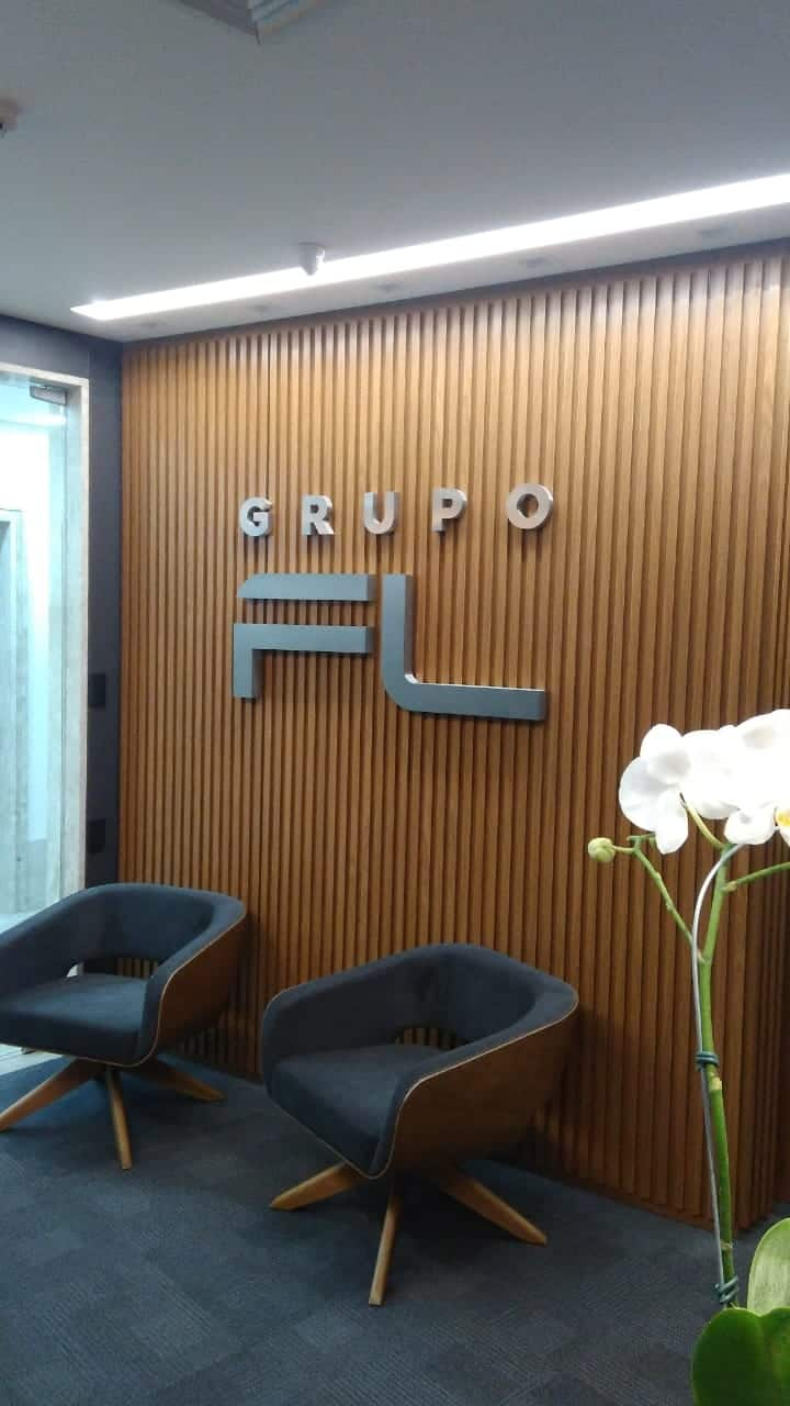 Letra Caixa - Grupo FL