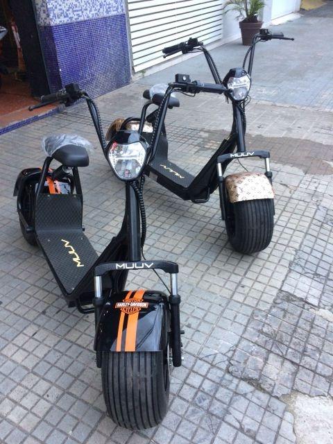 Moto elétrica personalizada