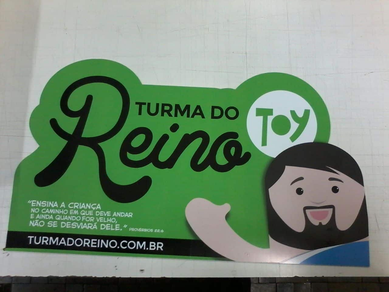 Placas | Turma do Reino