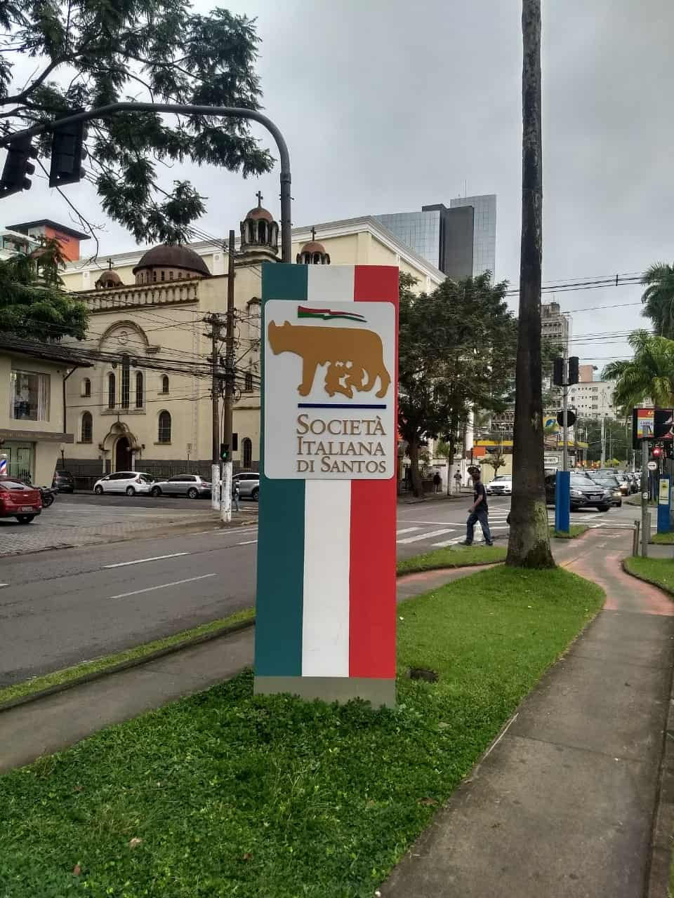 Totem | Sociedade Italiana de Santos