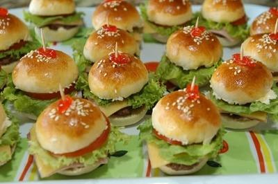 Mini- hambúrguer - Foto 1