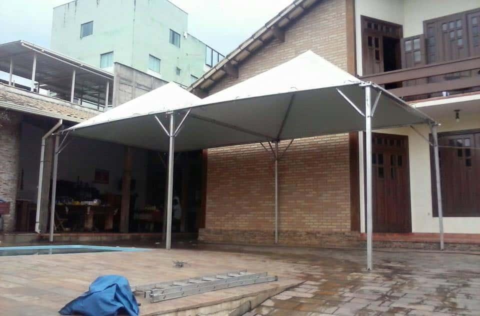 Tenda 4x4 com calhas laterais - Foto 4