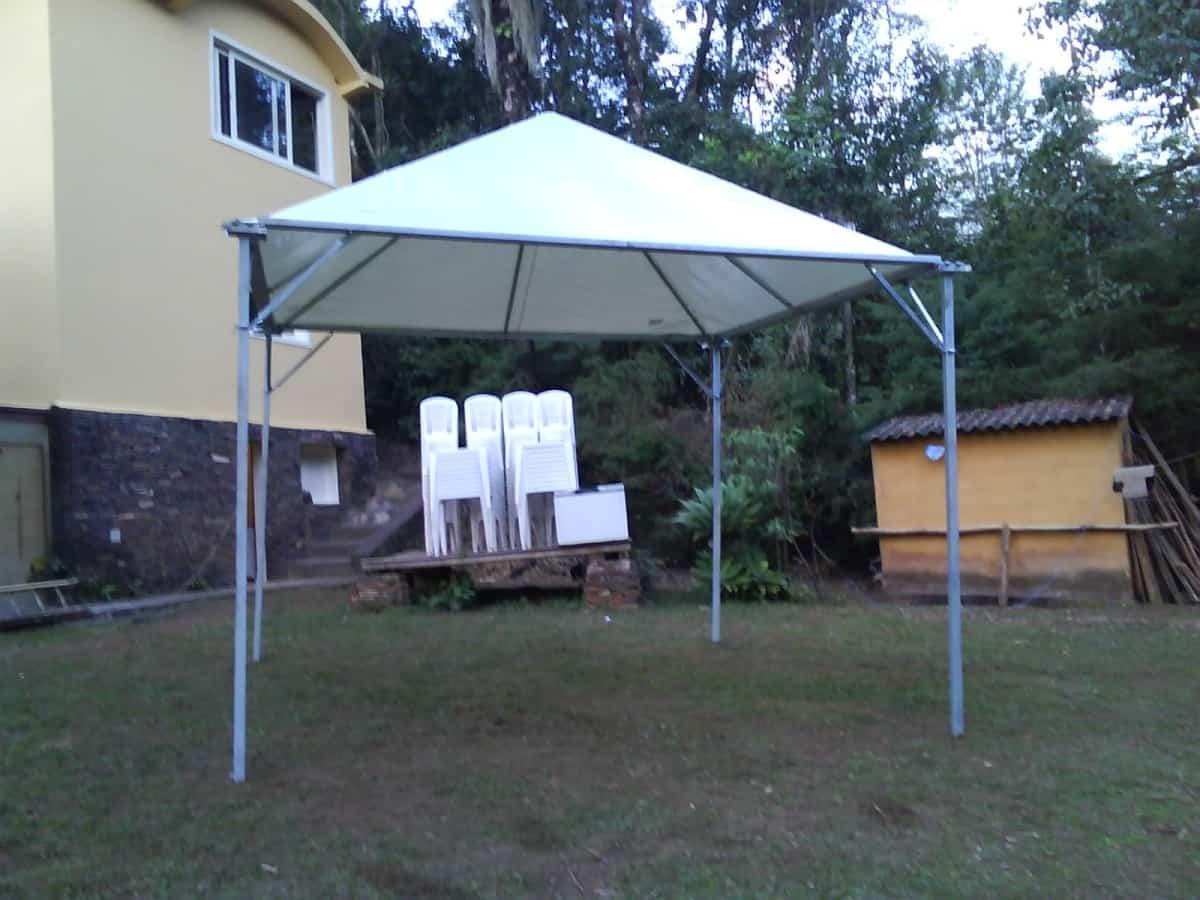 Tenda 4x4 com calhas laterais - Foto 8