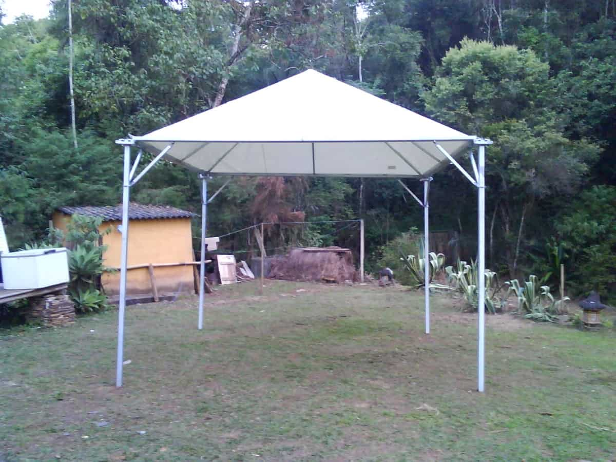 Tenda 4x4 com calhas laterais - Foto 10