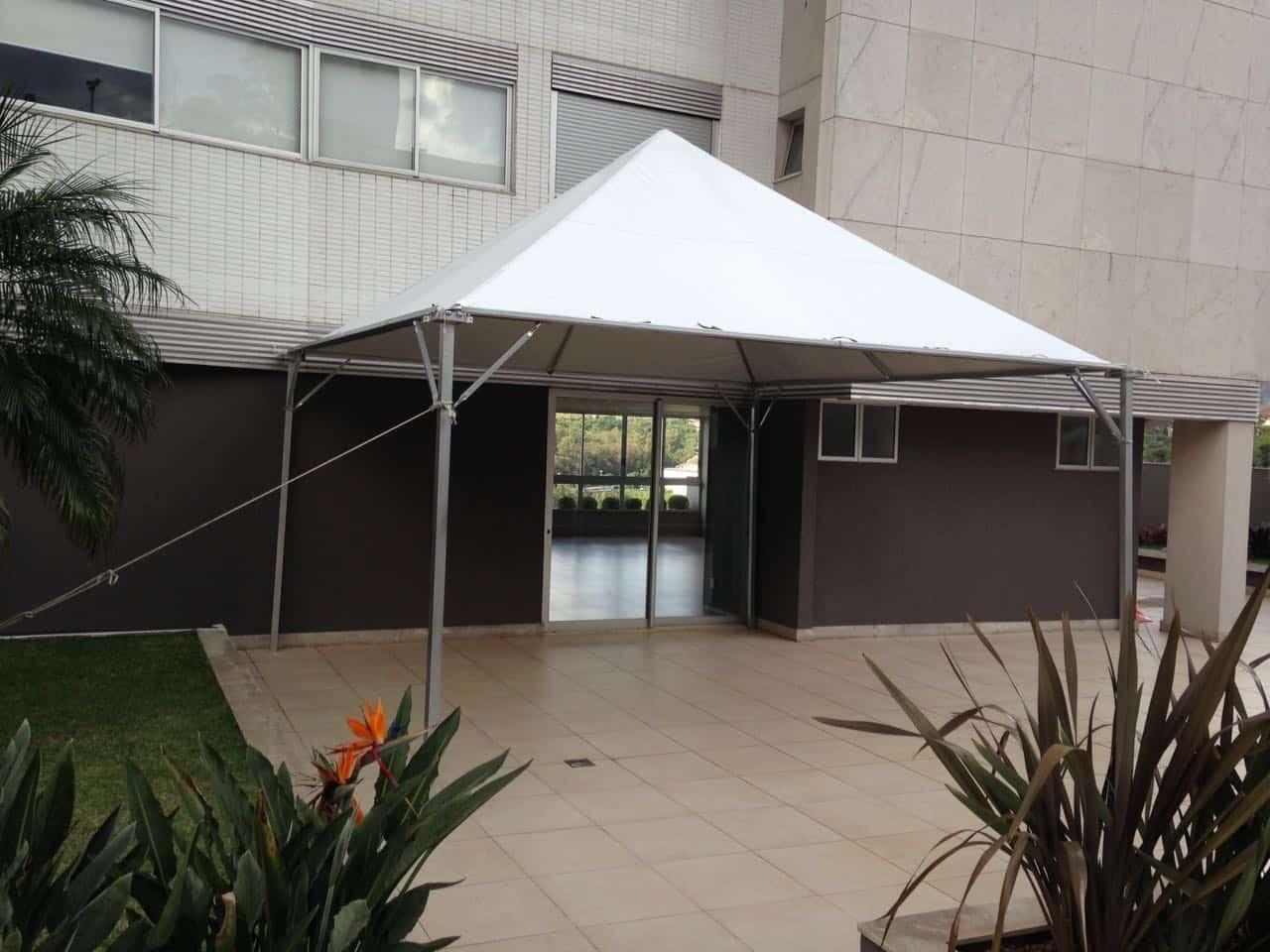 Tenda 5x5 com calhas laterais - Foto 1