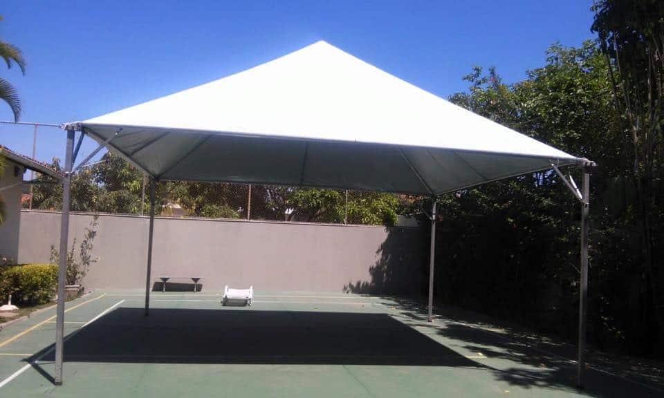 Tenda 5x5 com calhas laterais - Foto 6