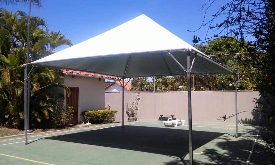 Tenda 5x5 com calhas laterais - Foto 9
