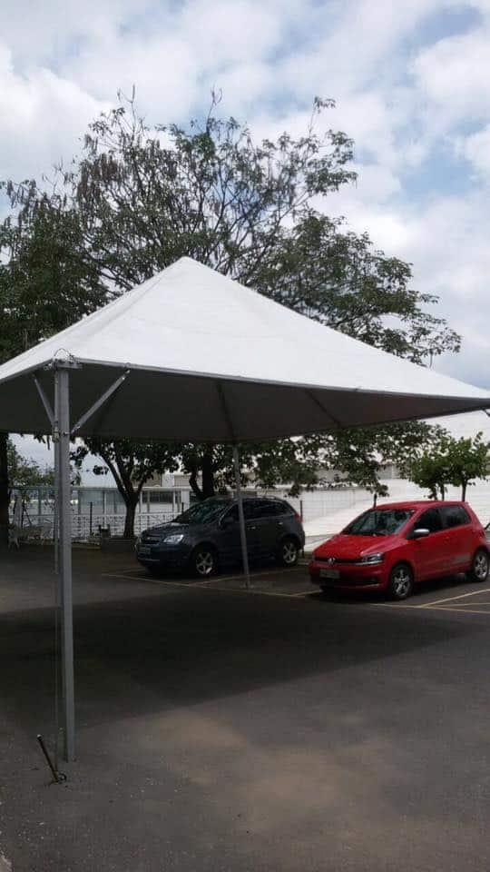 Tenda 5x5 com calhas laterais - Foto 16