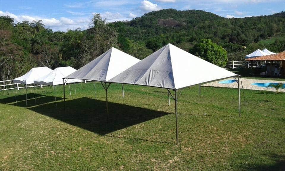 Tenda 5x5 com calhas laterais - Foto 11