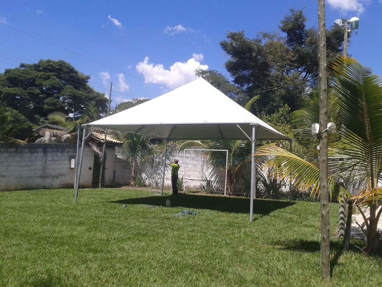 Tenda 6x6 com calhas laterais - Foto 5