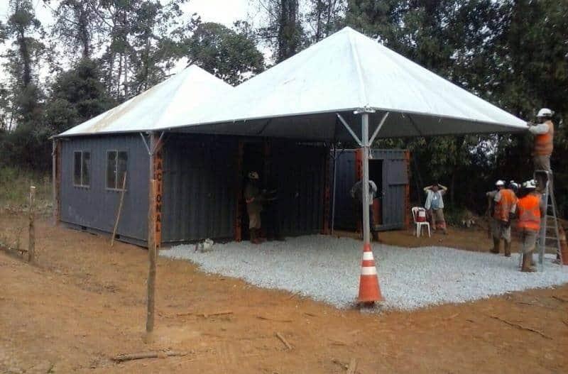 Tenda 6x6 com calhas laterais - Foto 7