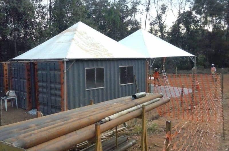 Tenda 6x6 com calhas laterais - Foto 8