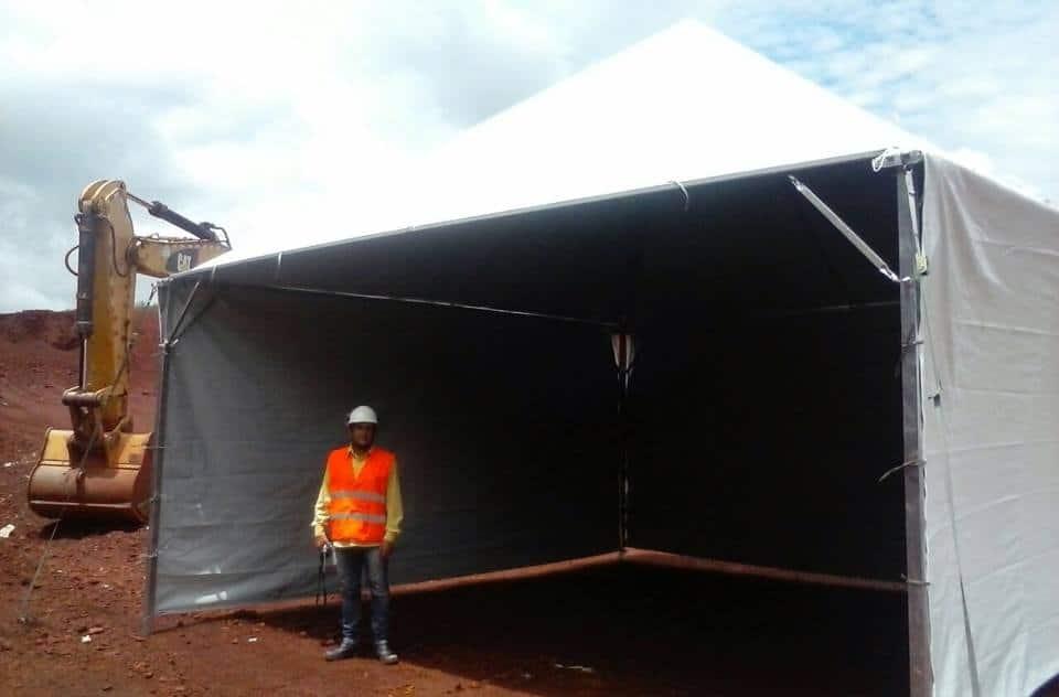 Tenda 6x6 com calhas laterais - Foto 9