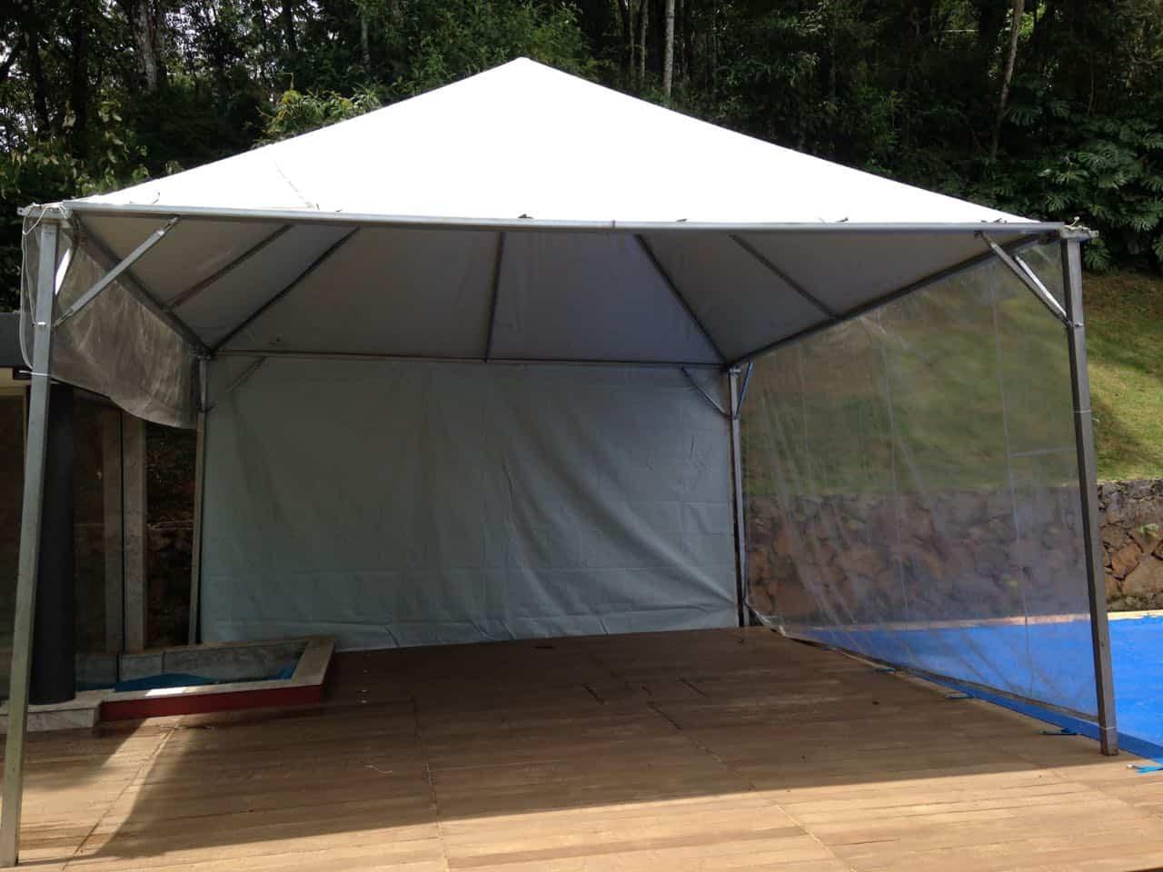 Tenda 6x6 com calhas laterais - Foto 18