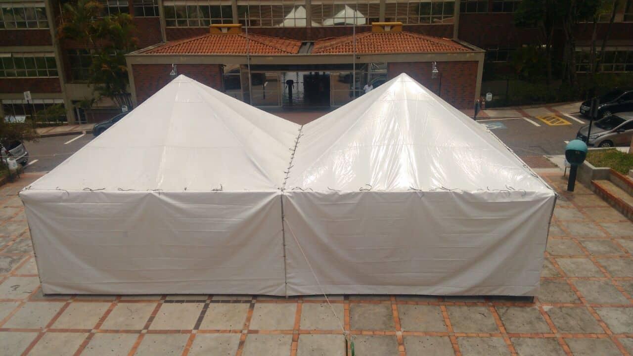 Tenda 6x6 com calhas laterais - Foto 19