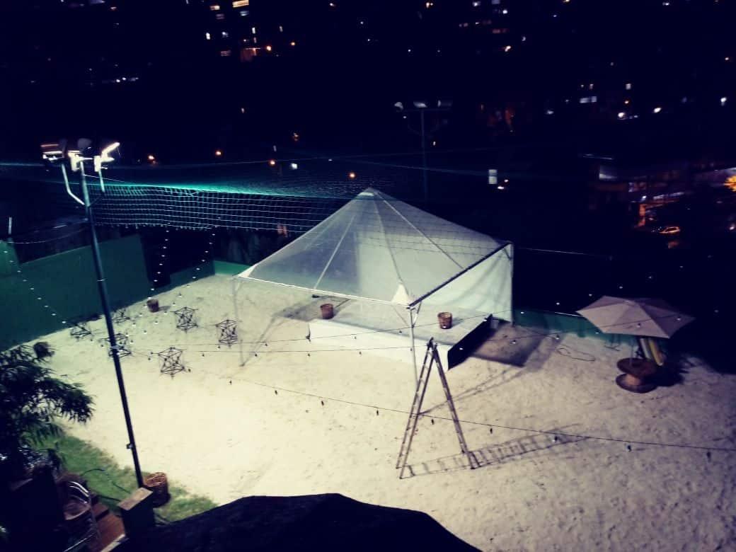 Tenda 6x6 com calhas laterais - Foto 24